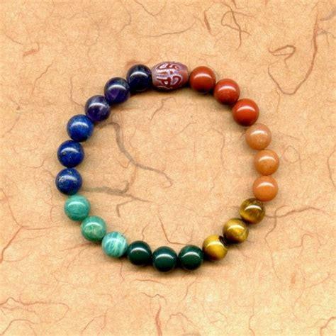 meditation bracelet heal 7 chakra meditation bead bracelet mala with by pacifixe