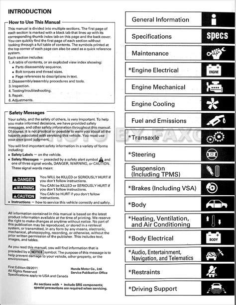 car repair manuals online free 2012 honda civic lane departure warning honda odyssey wiring diagram 2011 33 wiring diagram images wiring diagrams love stories co
