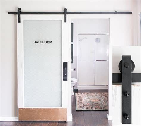 black barn door hardware 8 foot sliding barn door hardware black includes easy