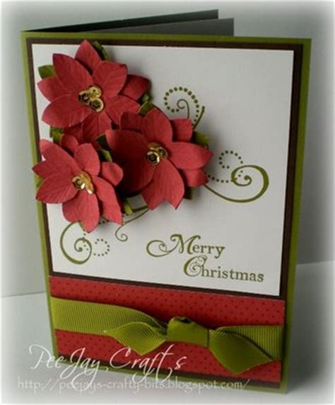 new year greeting card ideas beautyful poinsettia plant and how to