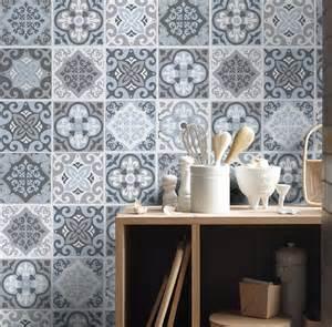 tile stickers tile decals backsplash tile vintage blue