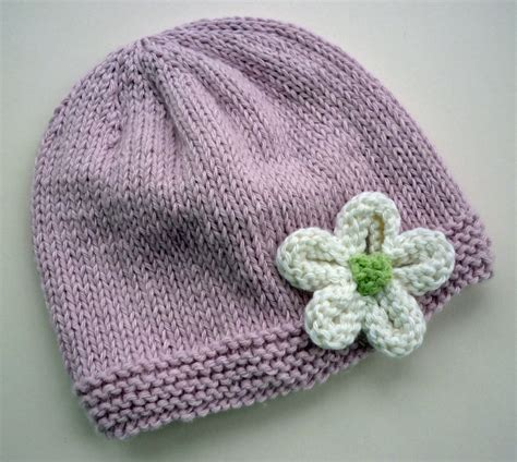knit flower pattern for baby hat mack and mabel knitted flower tutorial