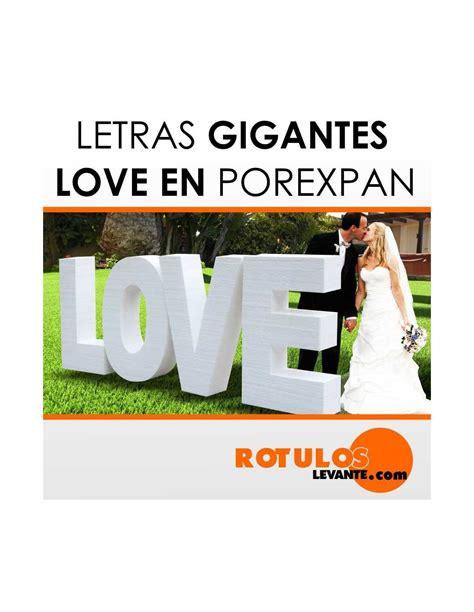 letras love decoracion letras gigantes love para boda