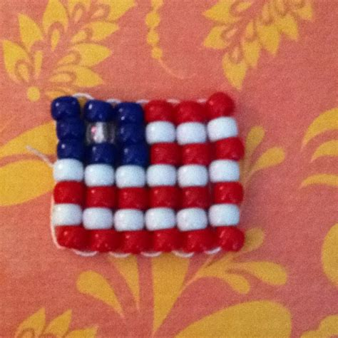 pony bead projects american flag pony bead creation this is to make for