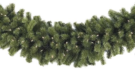 artificial garland sequoia fir commercial