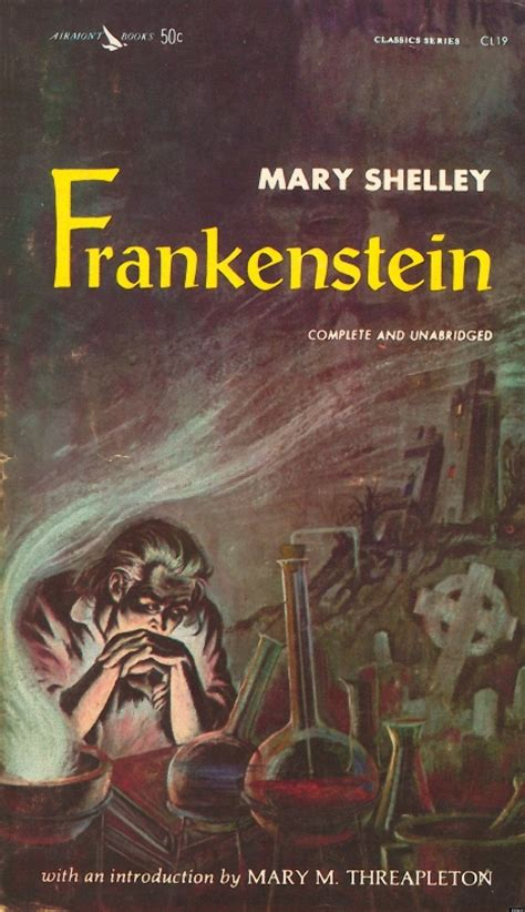 original book with pictures frankenstein by shelley the books we