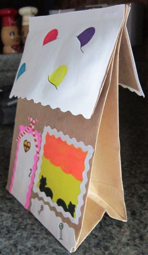 gingerbread house paper craft crafts activities for squarehead teachers