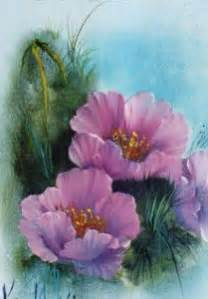 bob ross painting flowers how to paint a in acrylic today s craft and diy