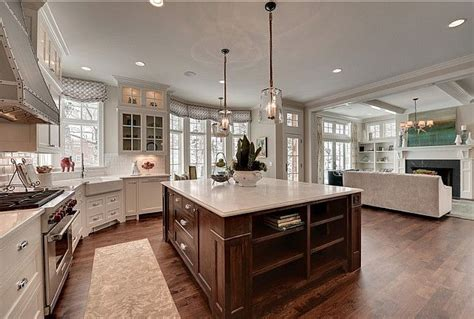family kitchen design kitchen family room open concept ideas kitchens
