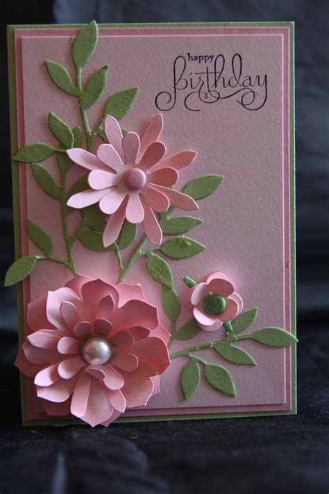 how to make flowers for cards flower card ideas card world