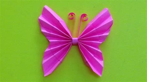 paper butterflies craft how to make a paper butterfly easy origami butterflies