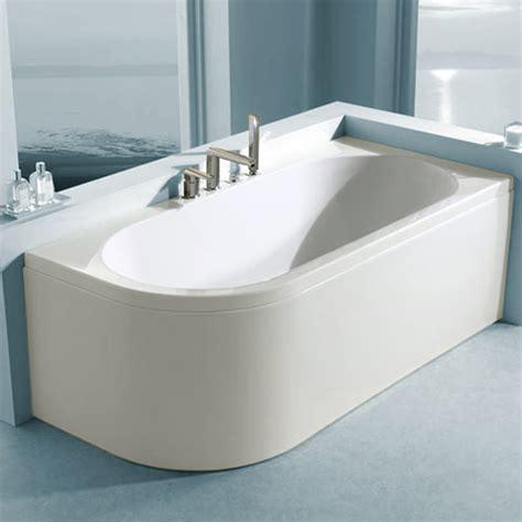 offset corner bath shower screen carron status offset corner right bath 1700 x 725mm