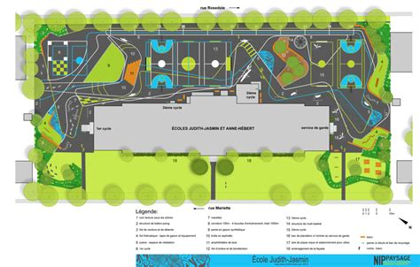Floor Plan Planner playful colorful grounds for play by nip paysage playscapes