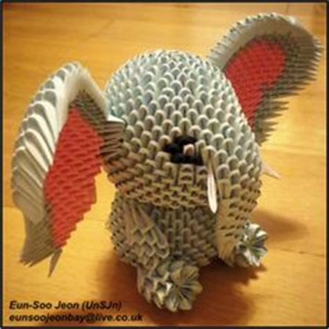3d origami elephant 1000 ideas about 3d origami on origami