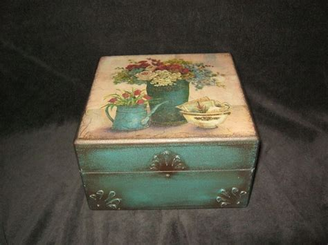 boxes for decoupage vintage decoupage box my decoupage