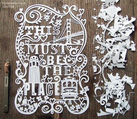 paper cutting craft work hang some paper cut on your wall with the work of