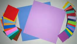 origami materials make a mothers day card with an origami twist