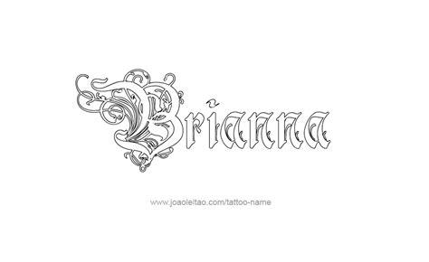 brianna name tattoo designs