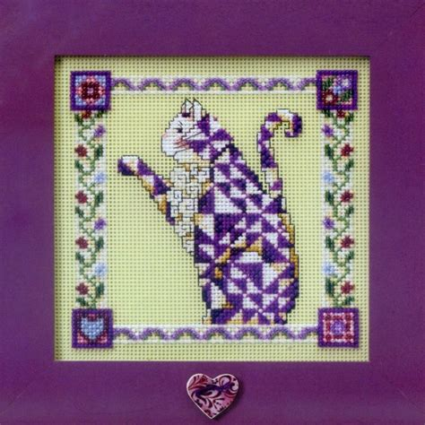 beaded cross stitch petunia beaded cross stitch kit mill hill 2008 jim shore