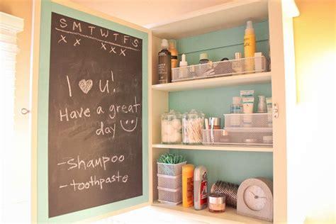 chalkboard paint ideas bathroom 15 ideas for a clutter free medicine cabinet