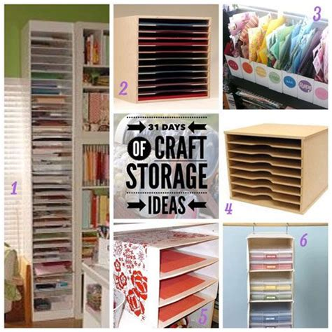 how to store craft paper 33 best images about 31 days of craft storage ideas on