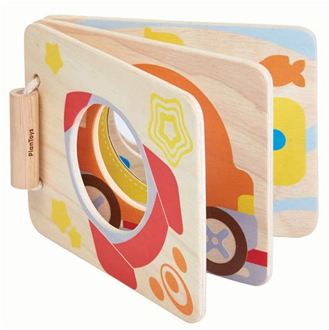 pictures of baby books plan toys mirror baby book