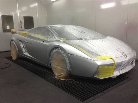 spray paint your car lamborghini gallardo murciliago kass smash repairs
