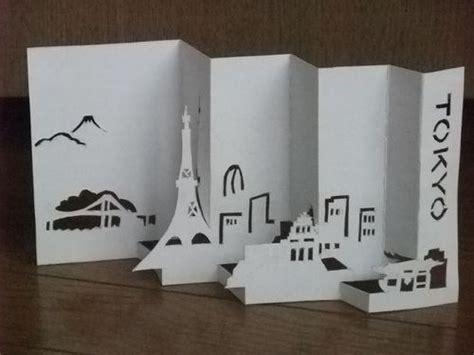 paper craft central kirigami arte de cortar papel dobrado curiosidades do