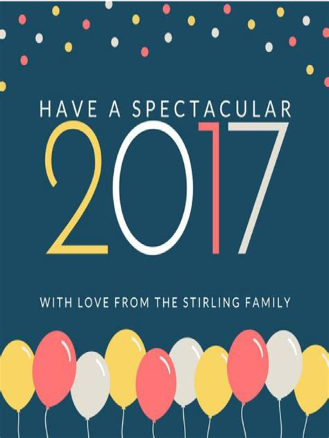 year greeting card free new year greeting cards 7 free templates in pdf word