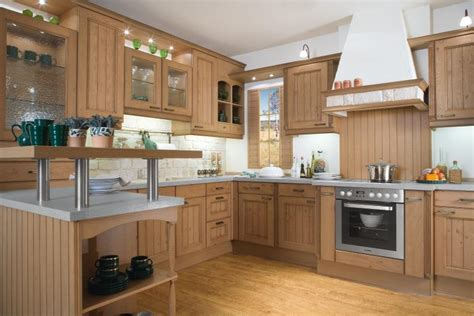 Light Wood Kitchen Design Stylehomes Net