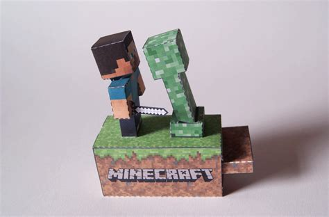 paper craft machine minecraft machine papercraft by kamibox on deviantart