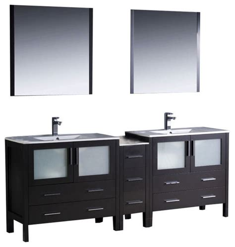 bathroom vanities 84 inches 84 inch sink bathroom vanity contemporary