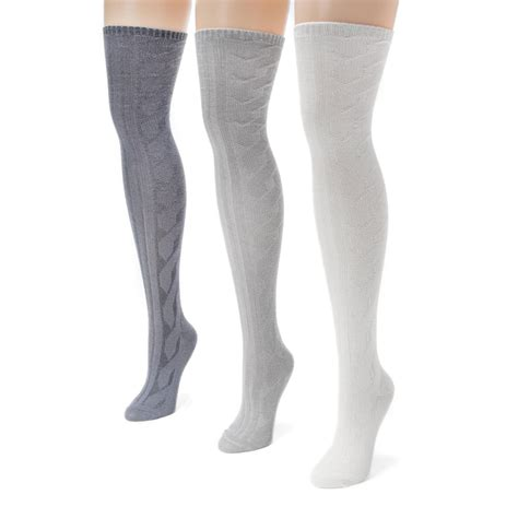 cable knit the knee socks 3 pack cable knit the knee socks ebay