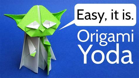 origami yoda easy origami yoda easy tutorial wars origami