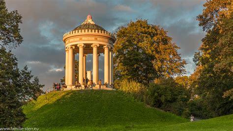 Englischer Garten München Fakten by Monopteros Fotospaziergang M 252 Nchen Familie Sterr