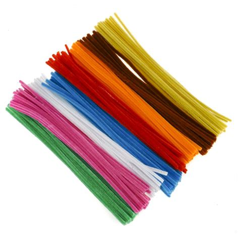 with pipe cleaners single colour pipe cleaner pack beige 100 pipe