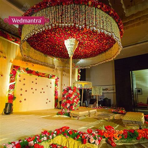decorations designs indian wedding and mandap decoration ideas and themes