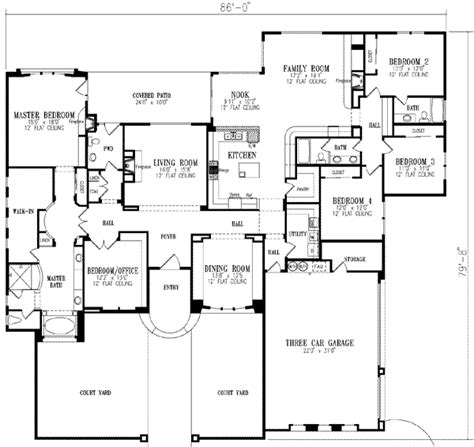 house plans 5 bedrooms luxury 5 bedroom house plans homes floor plans