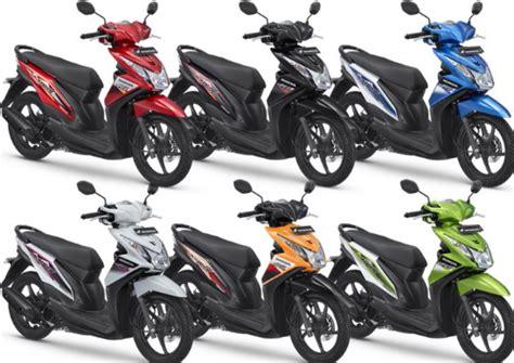 Gambar Motor Matic by Daftar Harga Motor Matic Honda Terbaru 2016 Beat Scoopy