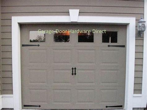 decorative garage door accents decorative carriage house garage door hardware direct kits