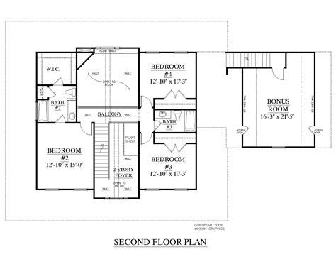 2 story floor plans with garage houseplans biz house plan 2544 a the hildreth a w garage