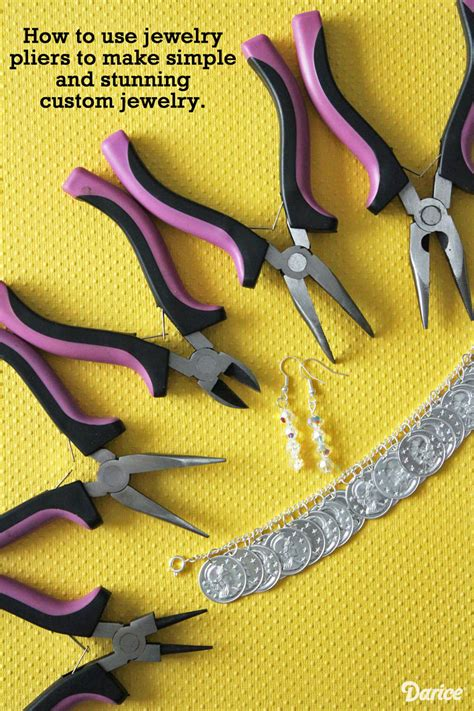 what do you need to make jewelry jewelry basics how to use jewelry pliers