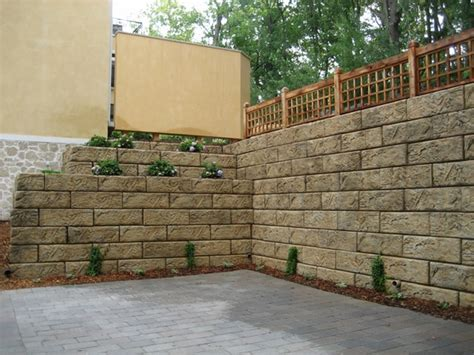 retaining garden wall ideas 35 retaining wall blocks design ideas how to choose the