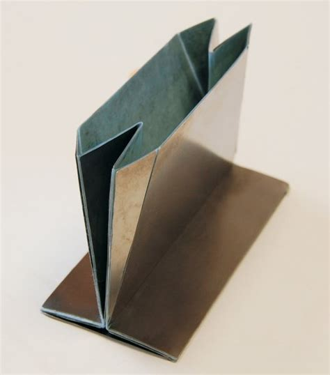 origami steel origami solution found for folding steel shopping bags