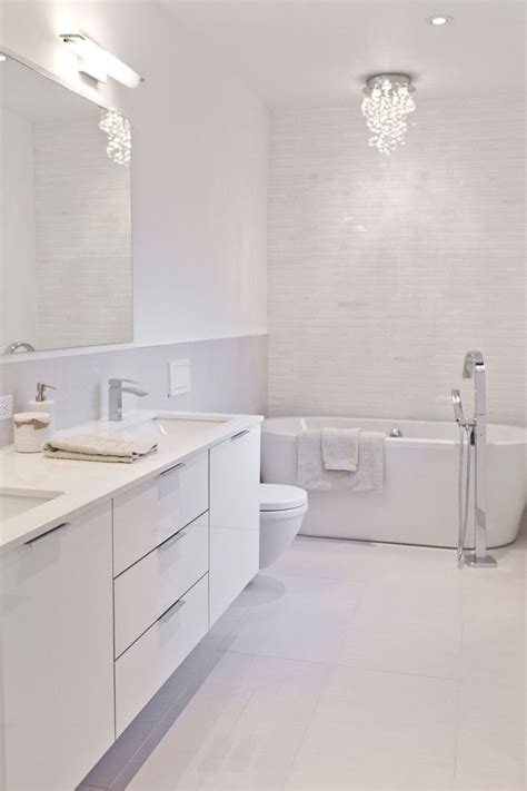 white modern bathroom best 25 white bathrooms ideas on bathrooms