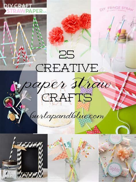 paper straw craft ideas diy paper straw crafts