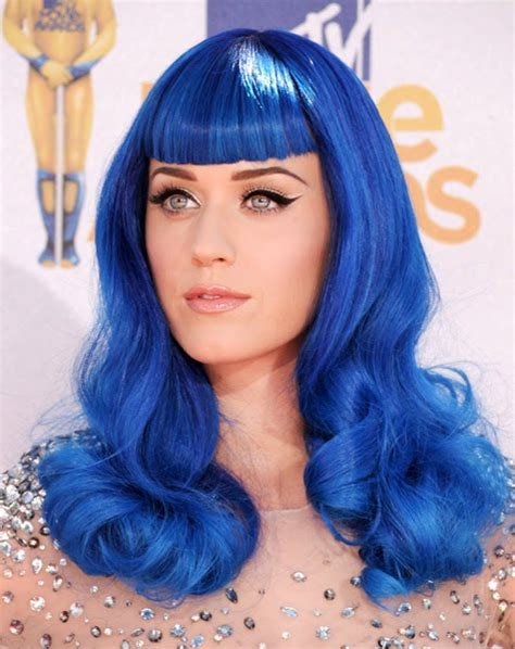 blue hair hairroin salon addicted to style katy perry s blue hair