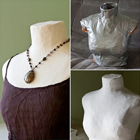 how to make a jewelry display how to make or makeover a mannequin for jewelry displays