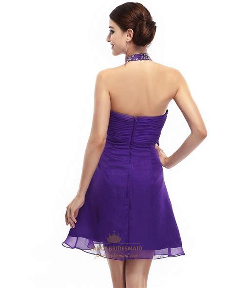 beaded empire waist dress purple chiffon empire waist halter beaded embellished