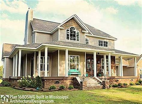 country farmhouse plans with wrap around porch plan 16804wg country farmhouse with wrap around porch house plans o connell and wraps